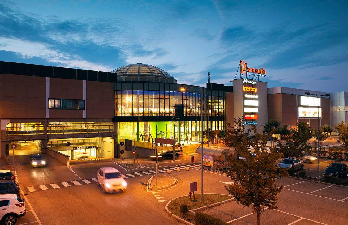 Centro Commerciale Leonardo - Sera