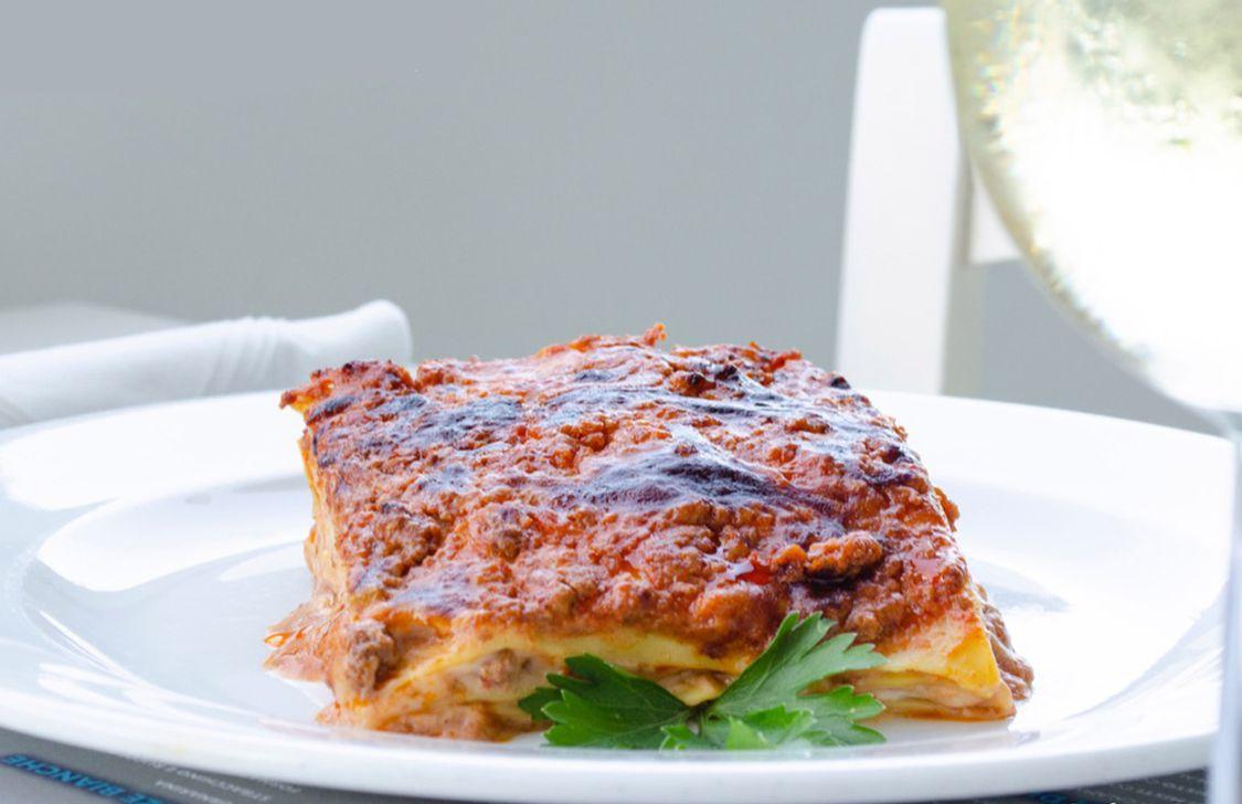 Osteria Mare Bianco - Lasagna