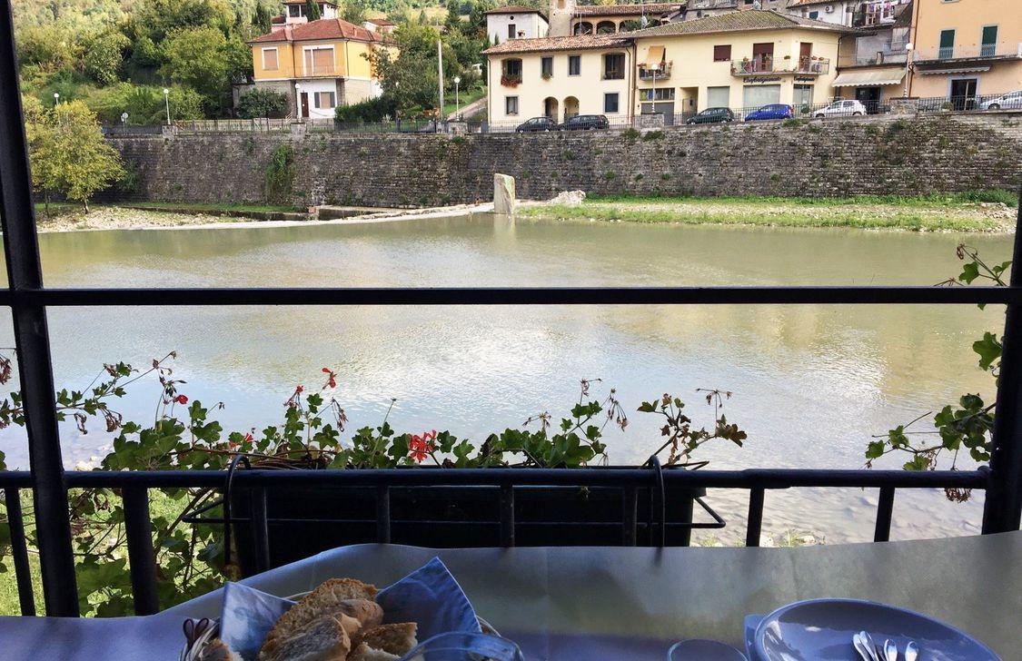 La Vecchia Osteria Del Borgo - Vista