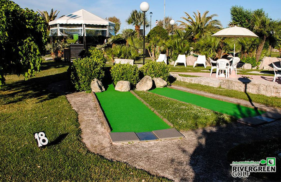 river green golf - percorso