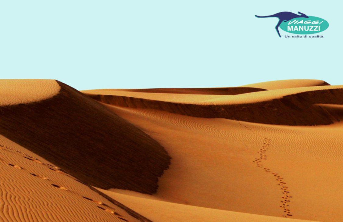 Viaggi Manuzzi - Deserto