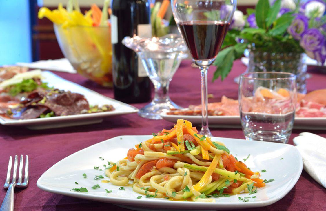 sporting hotel gubbio - ristorante