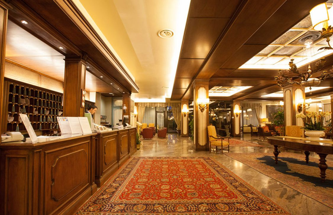 Abano Ritz - Reception
