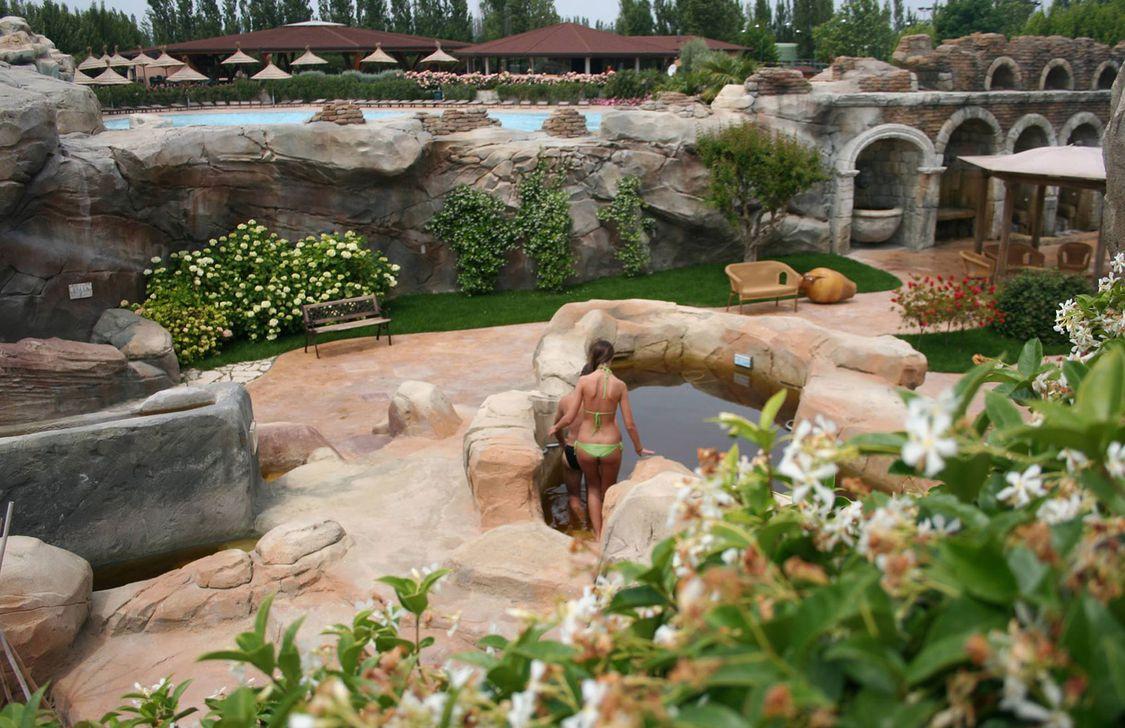 Thermae Oasis - Giardino