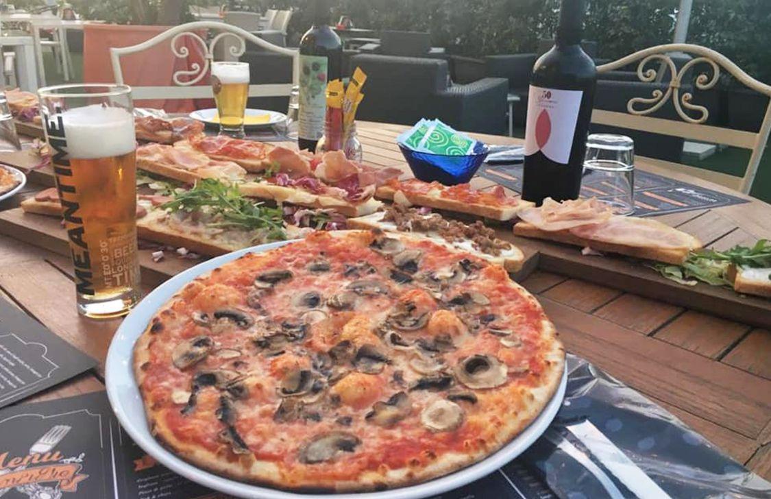 Bruschetteria Scompiglio - Pizza Bruschetta