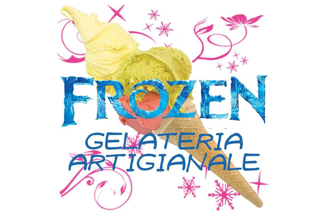 gelateria frozen - logo