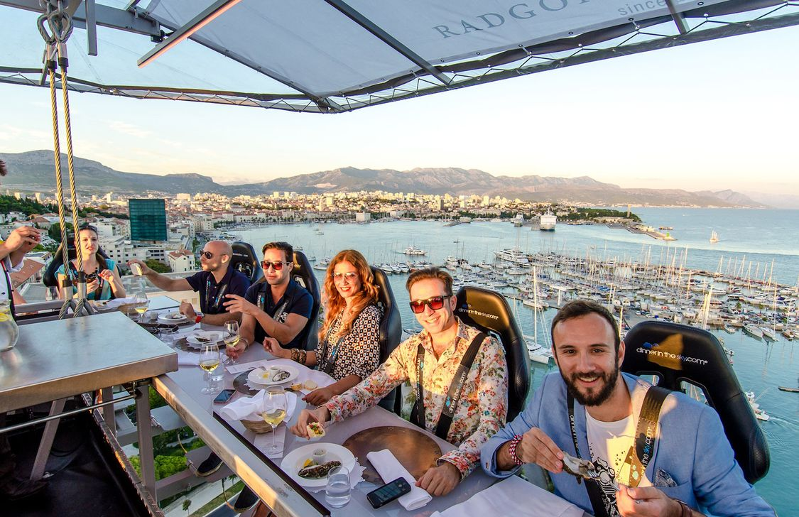 Dinner In The Sky - Panorama