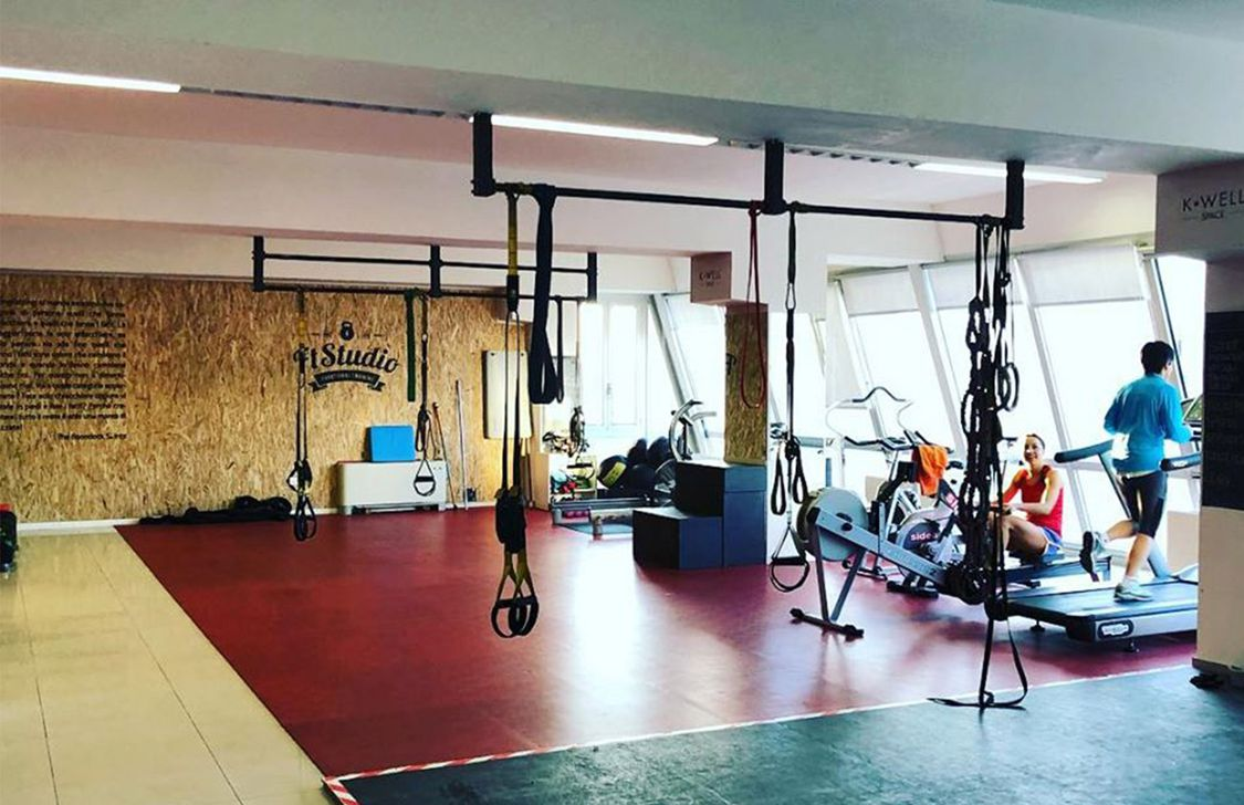 Palestra FT Studio - Interno