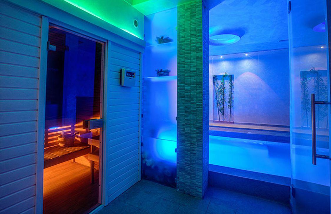 Ferretti Beach Hotel -Sauna