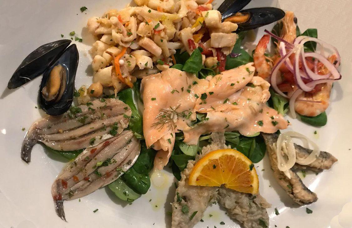 I Puret Osteria del Mare - Antipasto di pesce