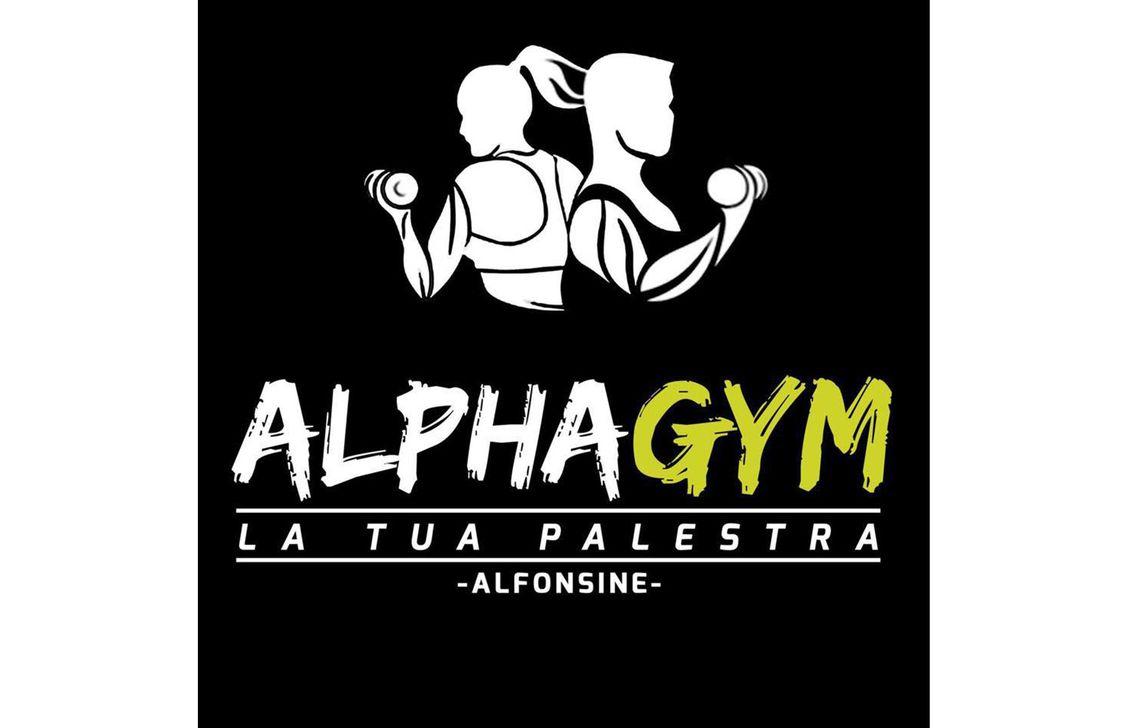 alpha gym - logo