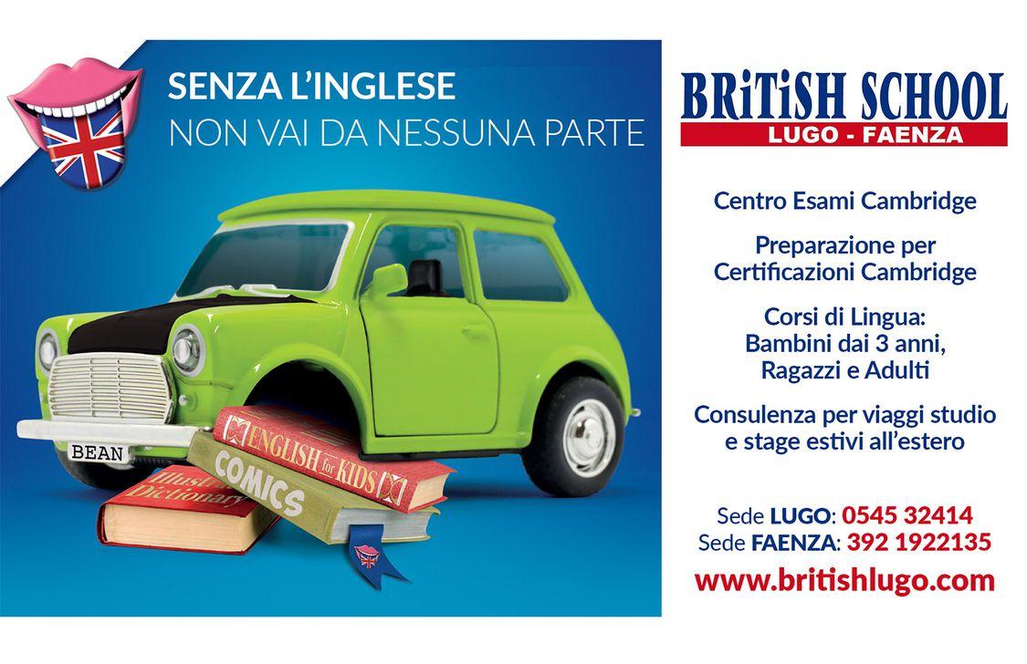 British School - Locandina