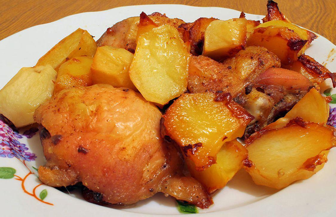 Agriturismo Il Gallo Nero - Pollo e patate