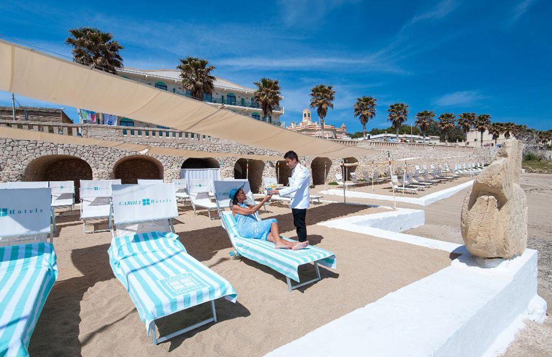 Hotel Terminal - Spiaggia