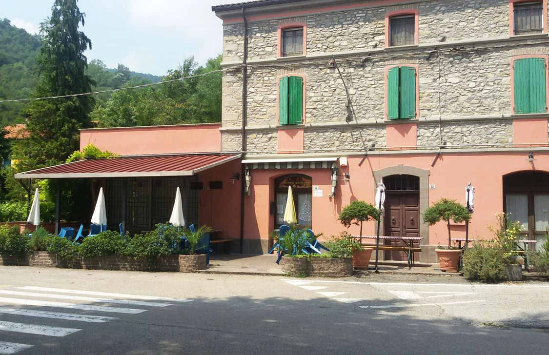 Osteri Santa Maria - Struttura
