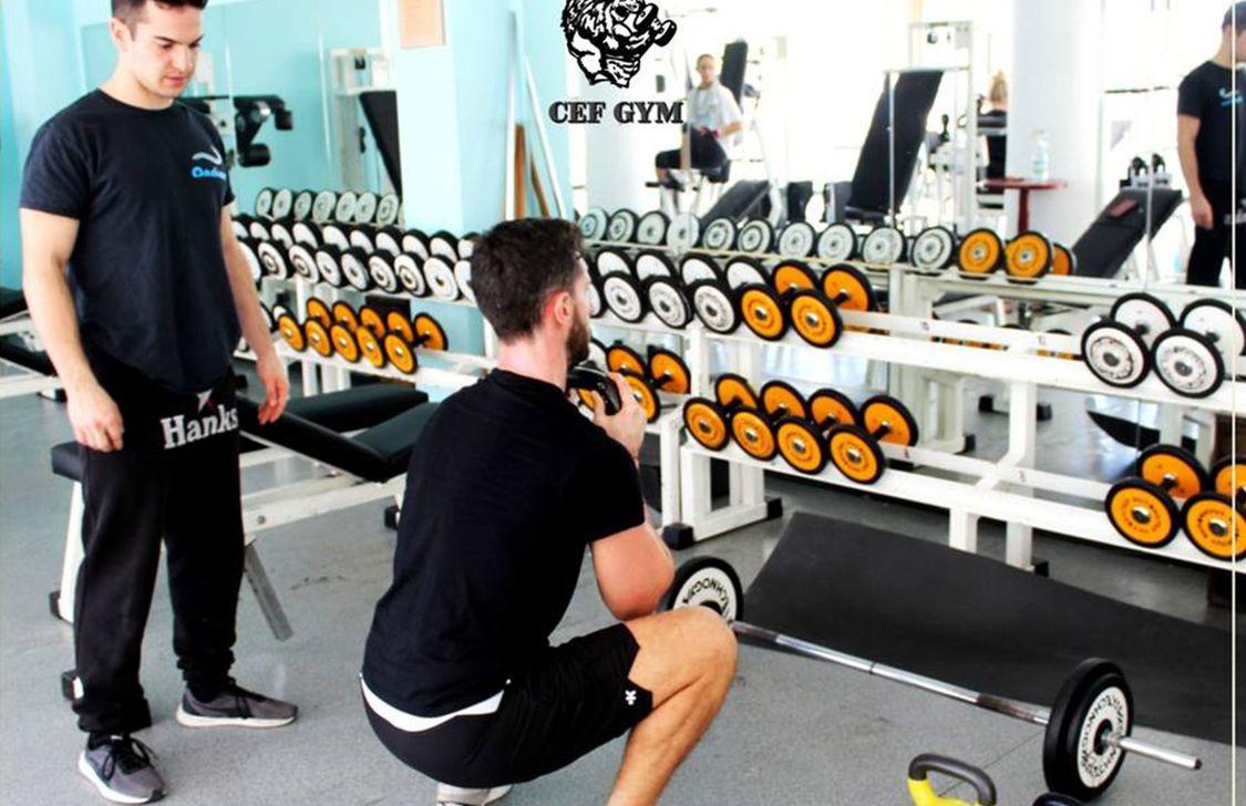 Cef Gym - Sala Pesi