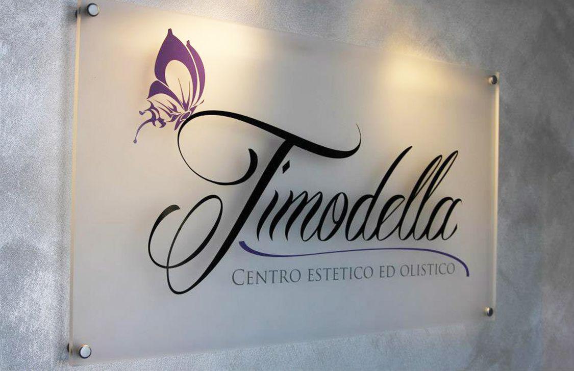 timodella - insegna