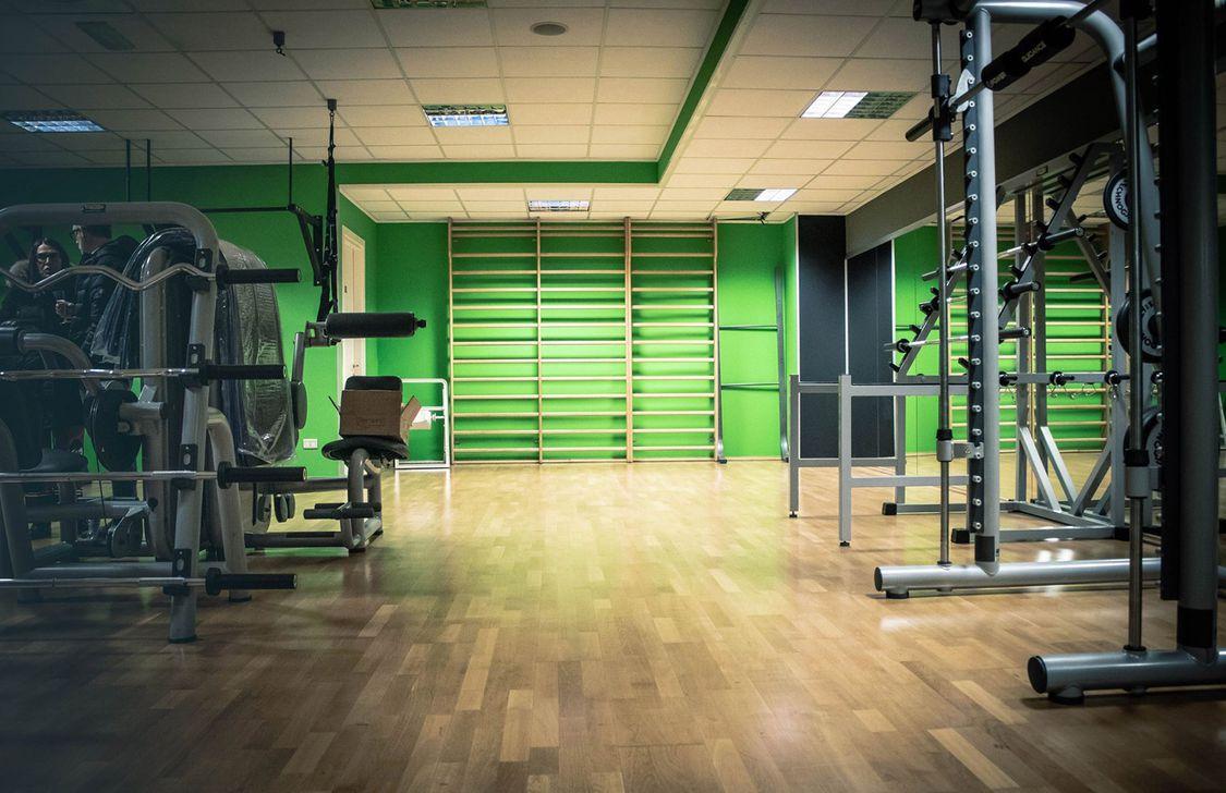 alpha gym - attrezzi