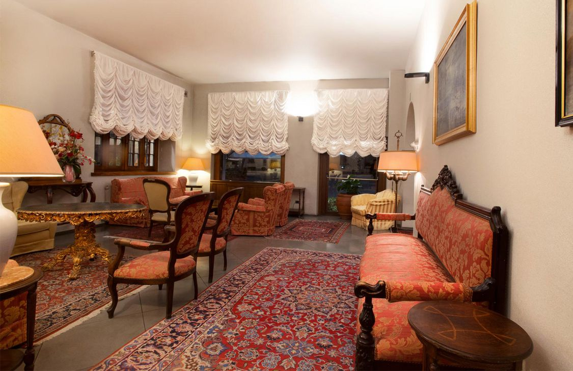 Grand Hotel Terme Roseo - Salottino