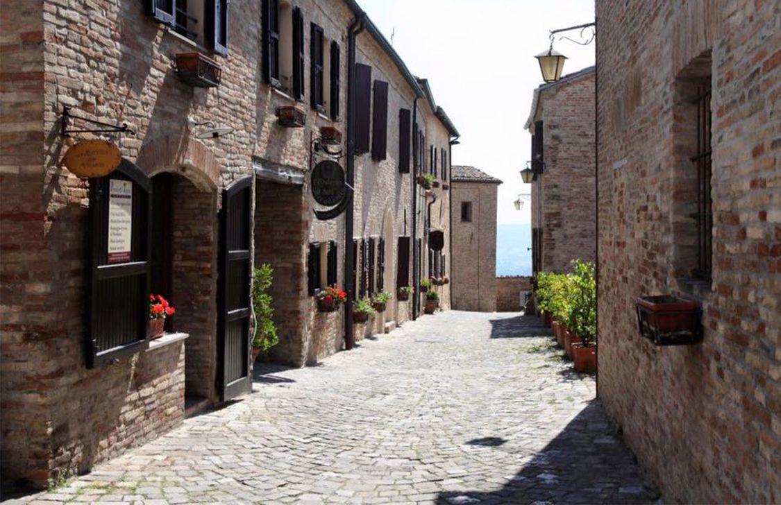 Castello di Montegridolfo - Vicolo