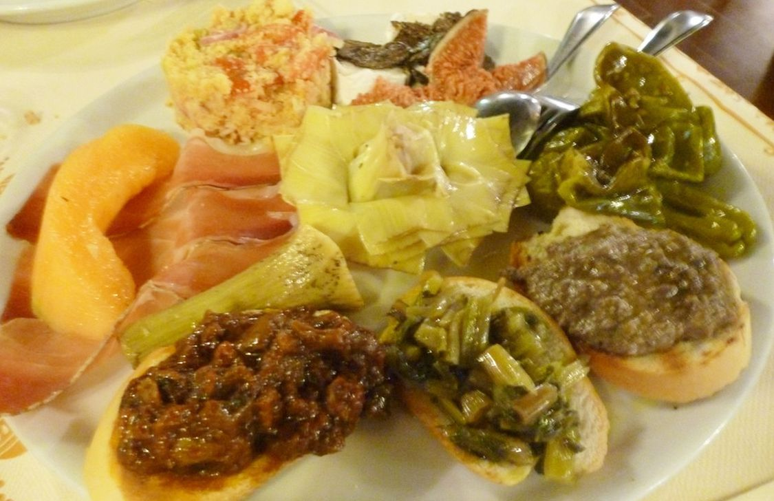 La Colombaia - Antipasti