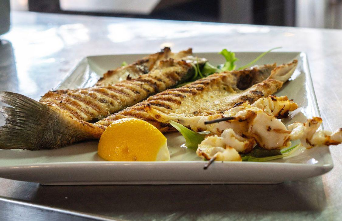 Ostaria Del Mare - Pesce grigliato