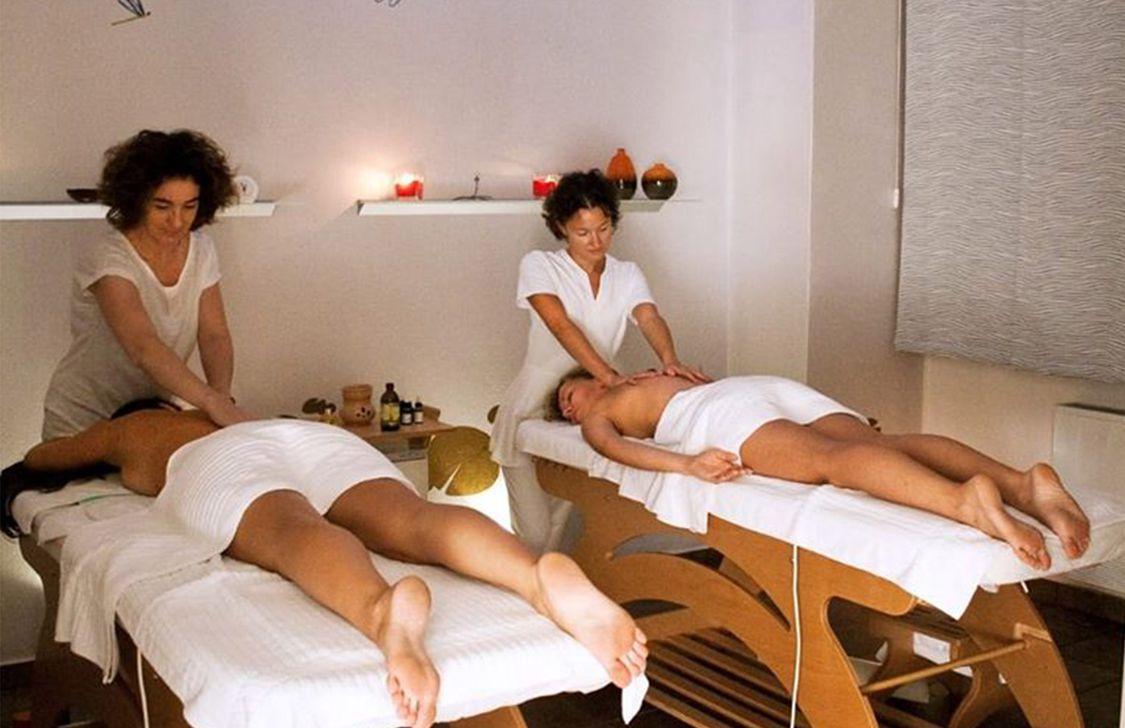 Re Aqva - Massaggio