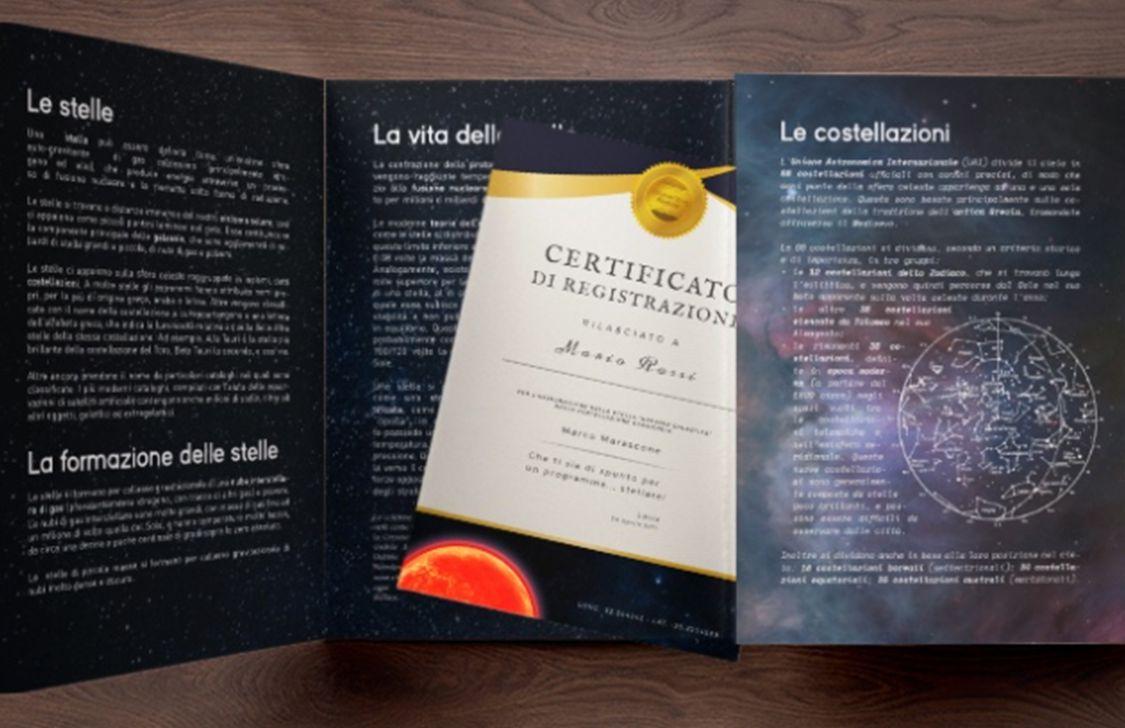 Global Stars Register - Fascicolo