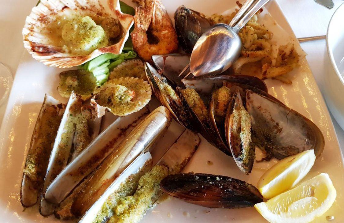 Ristorante Titon - Pesce Gratinato