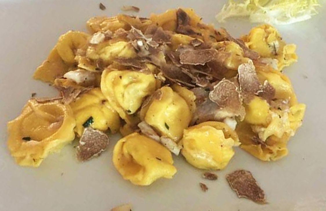 Osteria Maremosso - Cappelletto al tartufo