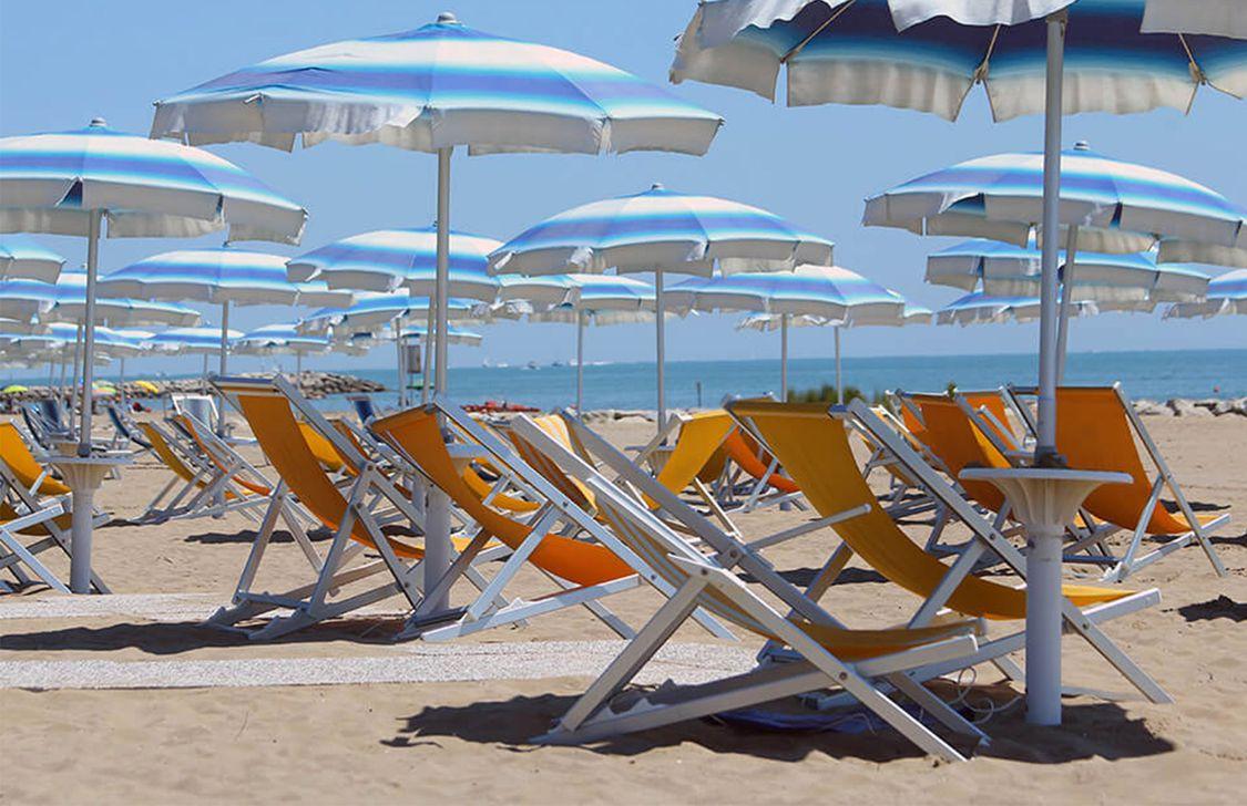 Hotel Atmosfere Beach - Spiaggia