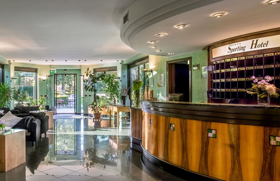 sporting hotel gubbio - hall