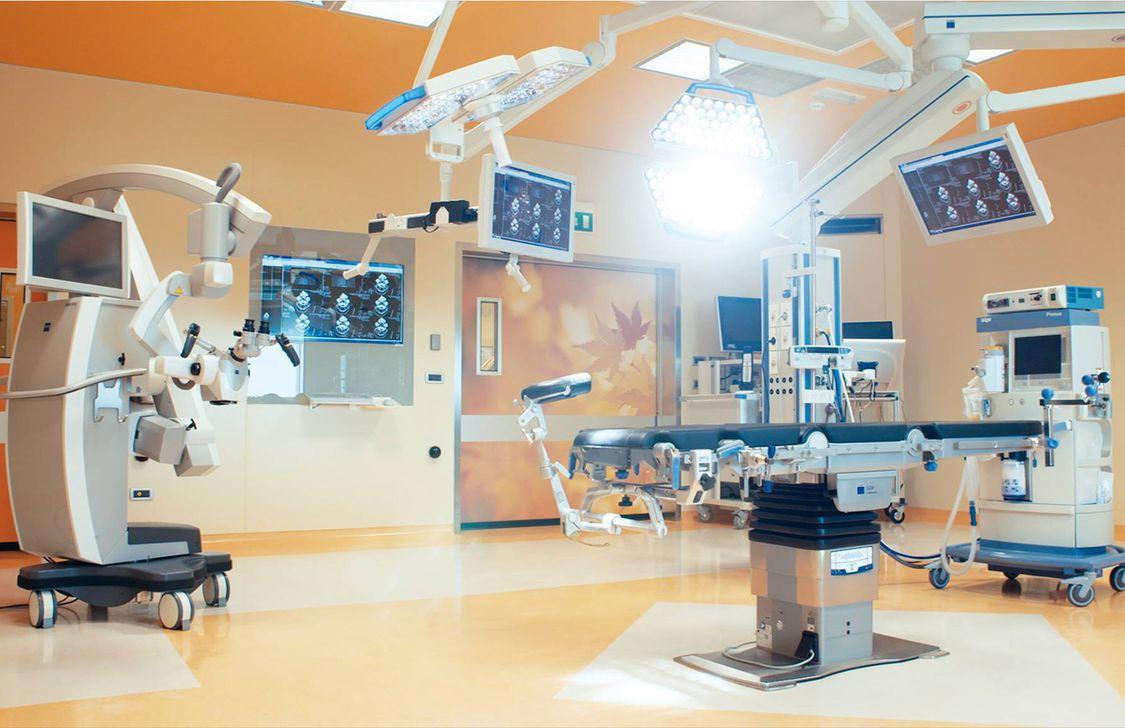 Maria Cecilia Hospital - Sala
