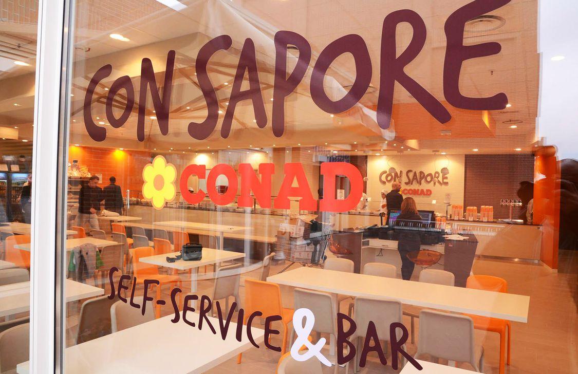 Conad Con Sapore - Insegna