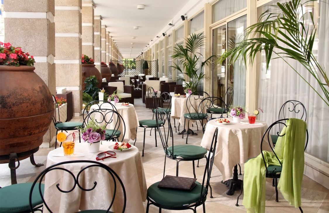 Grand Hotel Fleming - Veranda