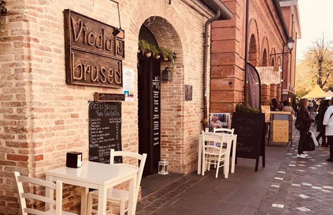 Vicolo di Brused - Ingresso
