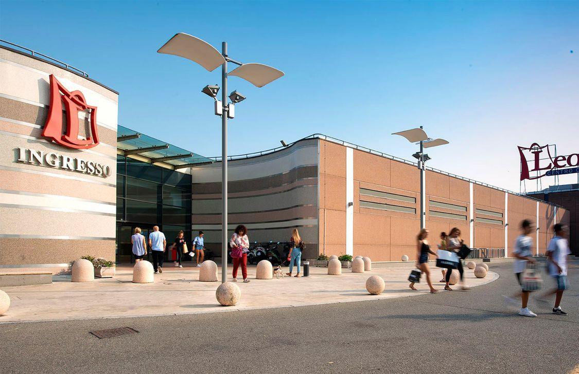 Centro Commerciale Leonardo - Ingresso