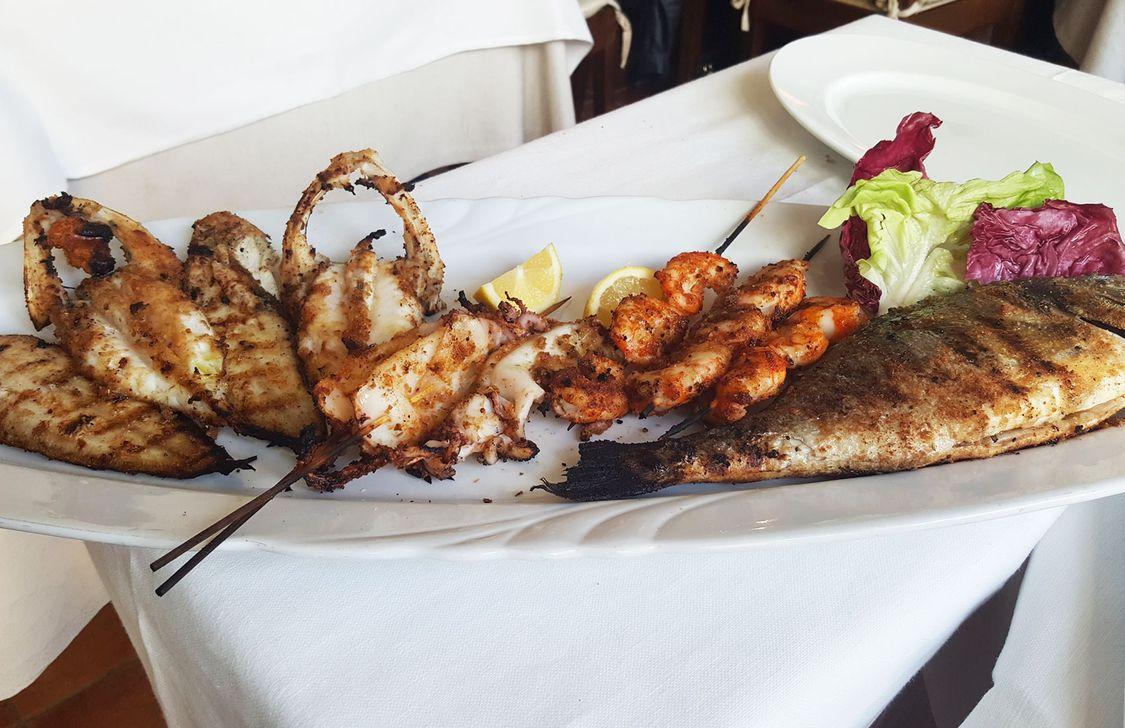 Ristorante Titon - Grigliata di Pesce