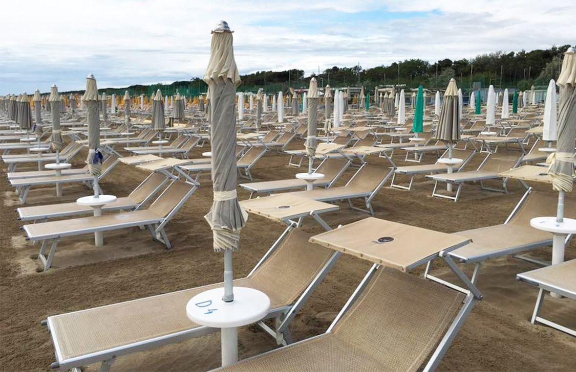 Bagno Italia e Giuliana - Spiaggia