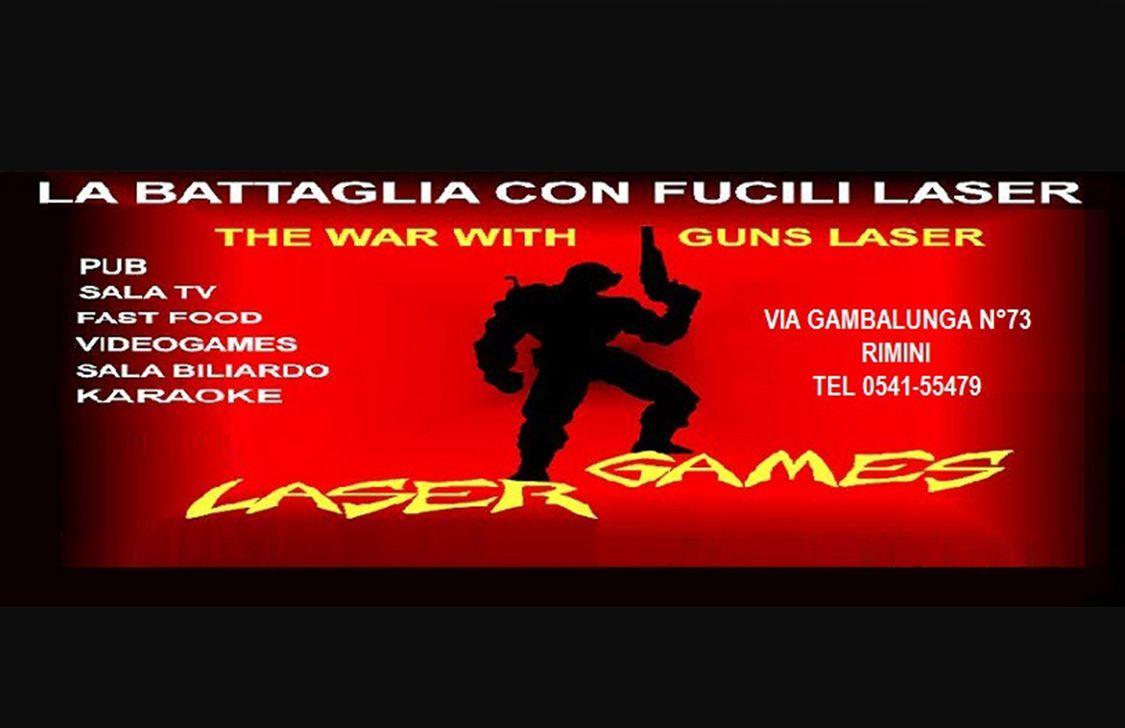 Laser Games Rimini - Logo