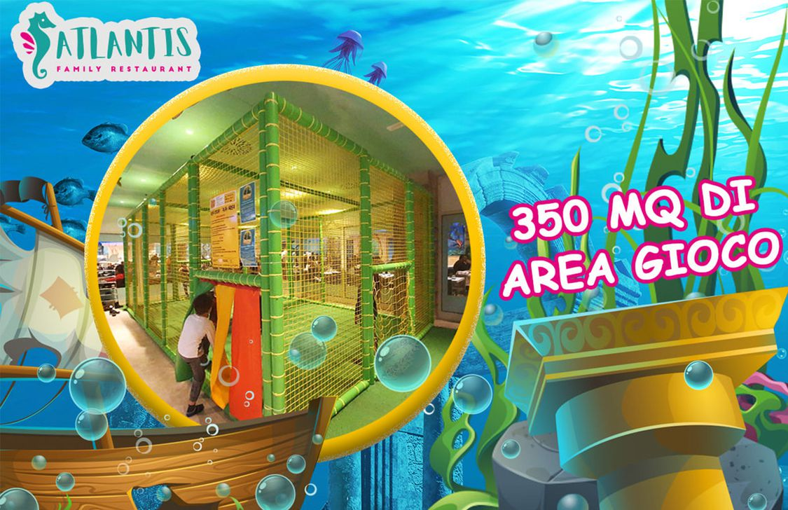 Atlantis Family Restaurant - Area Gioco