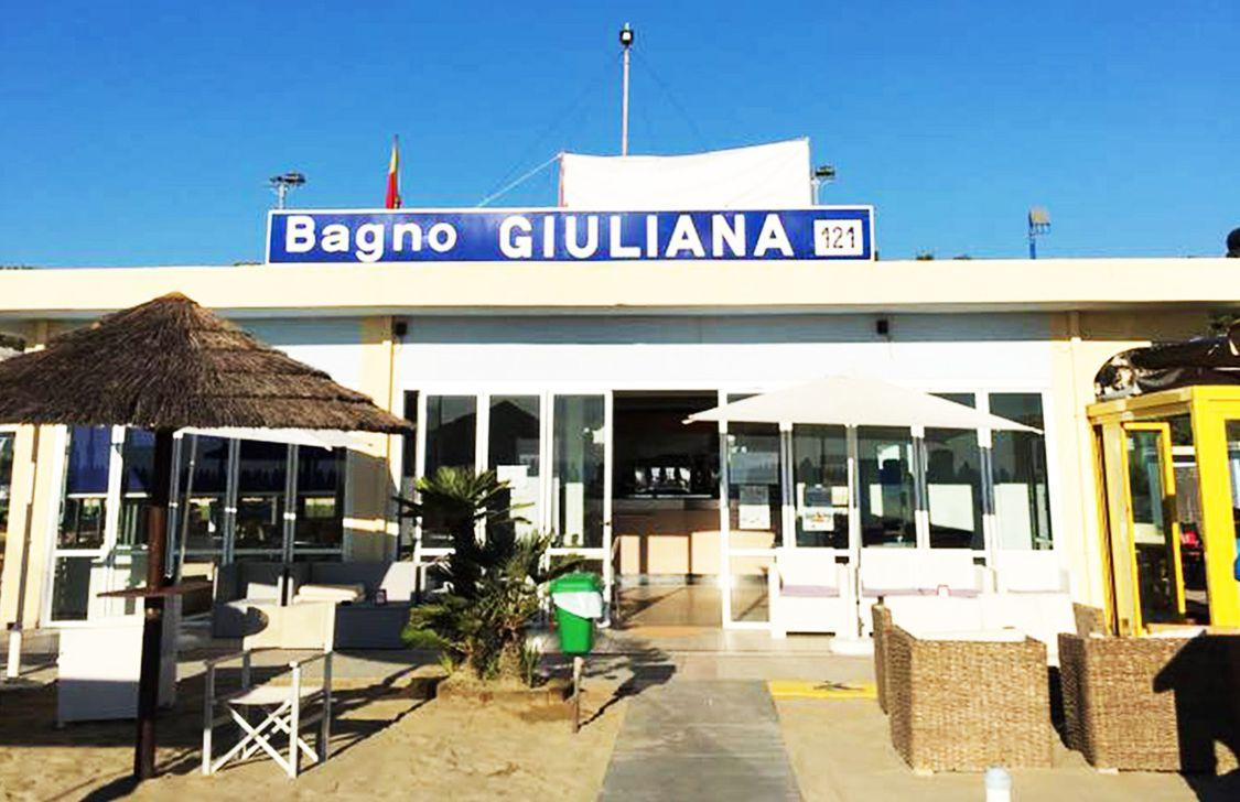 Bagno Italia e Giuliana - Stabilimento