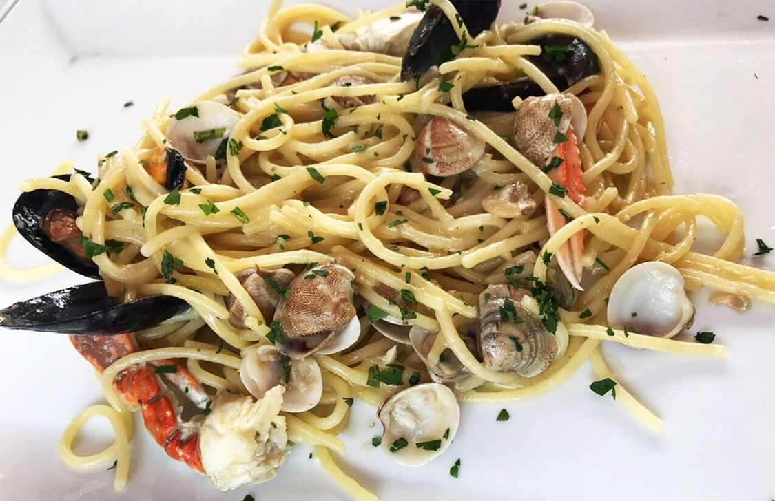 Ostaria Del Mare - Spaghetti allo scoglio