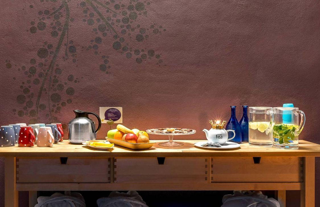 Erato Wellness Luxury Spa - Angolo tisane