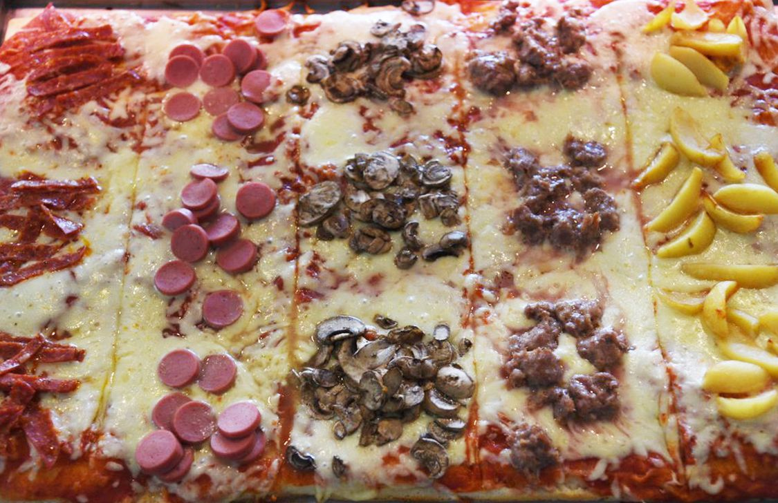atto secondo - pizzette