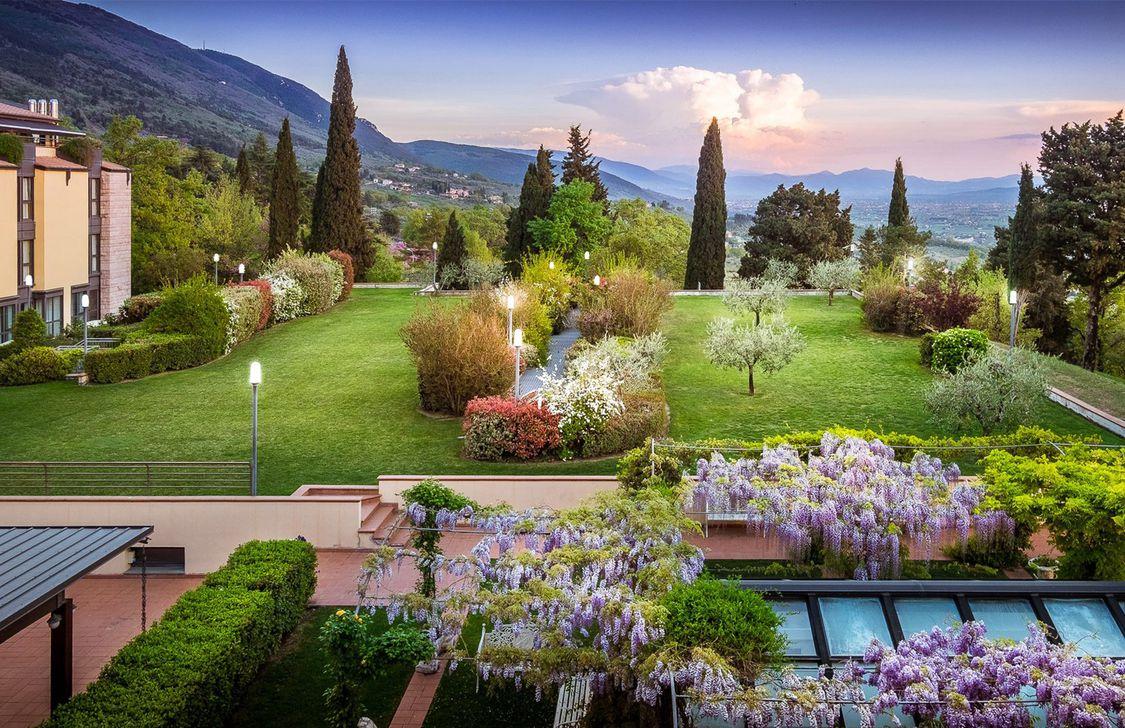 Grand Hotel Assisi - Giardino