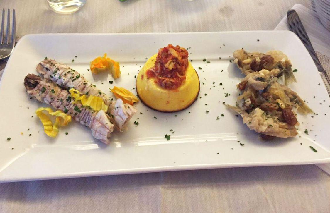 Osteria Maremosso - Piatto Pesce