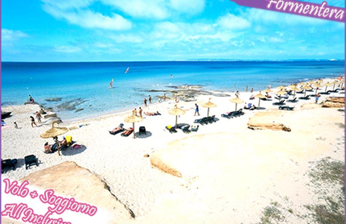 Offerta volo+soggiorno a Formentera - Tippest