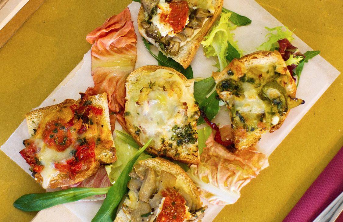 Osteria Carpineta - Crostini