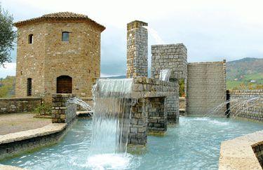 La Rocca  dei Malatesta - Fontana